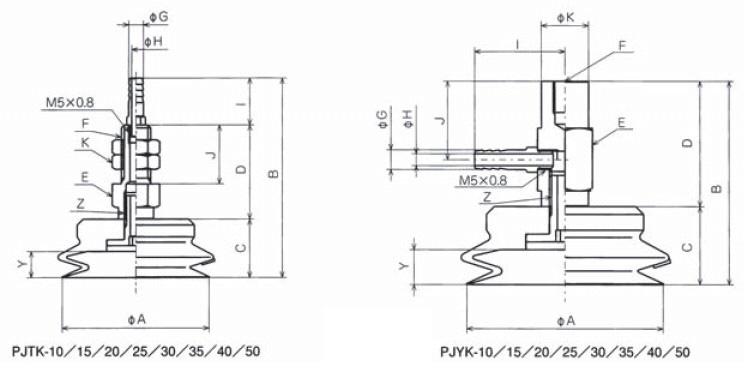 真空吸盘价格,江苏专用优质附接头固定式金属配件